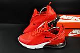 Кроссовки Nike Air Max 270 арт.20625 (мужские, красные, найк), фото 2