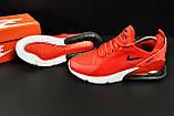 Кроссовки Nike Air Max 270 арт.20625 (мужские, красные, найк), фото 3