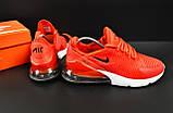 Кроссовки Nike Air Max 270 арт.20625 (мужские, красные, найк), фото 4