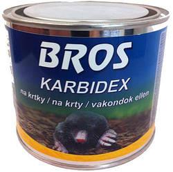 Засіб відлякування гризунів Bros Карбидекс 500 г Польща