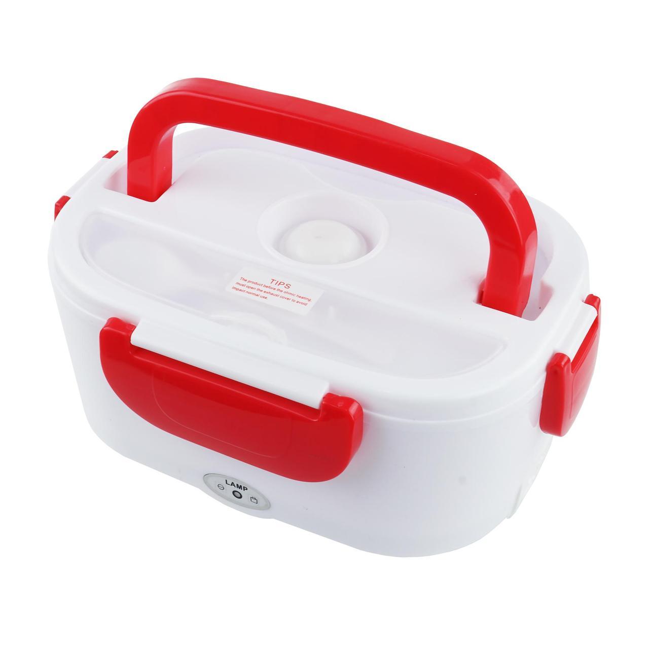 Ланч-бокс с подогревом от сети 220 Вт. The electric lunch box