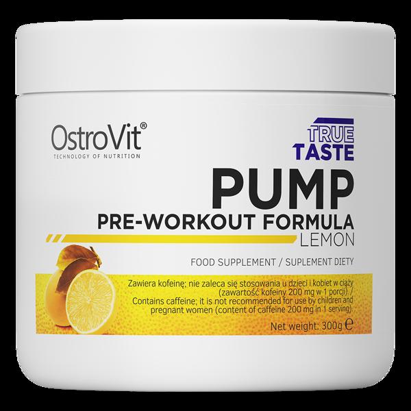 Предтреник OstroVit PUMP Pre-Workout Formula (300 г) островит памп Lemon