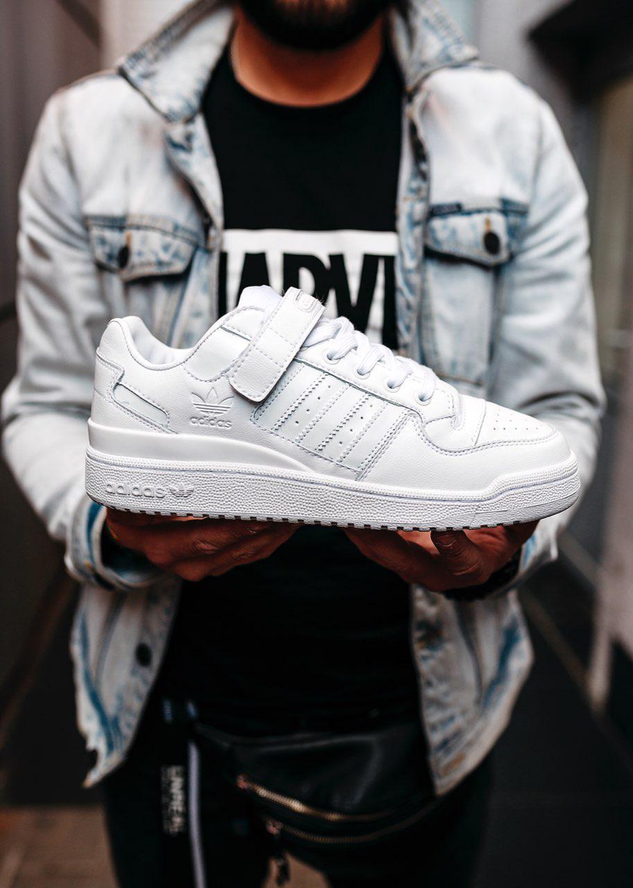 """Кроссовки Adidas Forum """"White"""" (реплика)"""