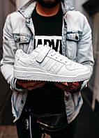 """Кроссовки Adidas Forum """"White"""" (реплика), фото 1"""