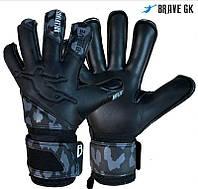 Перчатки вратарские Brave gk reflex black, размер 10