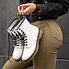 """Мужские зимние ботинки Dr.Martens """"White"""", фото 4"""