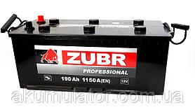 Вантажний Акумулятор автомобільний ZUBR Professional 190