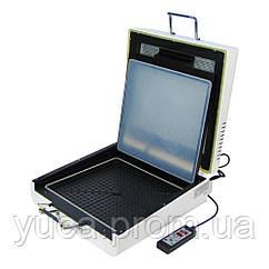 Вакуумный термопресс 3D  VP3030 Mini, для сублимационной 3D печати со спец. бумагой A4 и крас-ми, P=1.5 кВт, (6 x 30 x 30 см)
