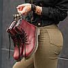 """Мужские зимние ботинки Dr.Martens """"Maroon"""", фото 6"""