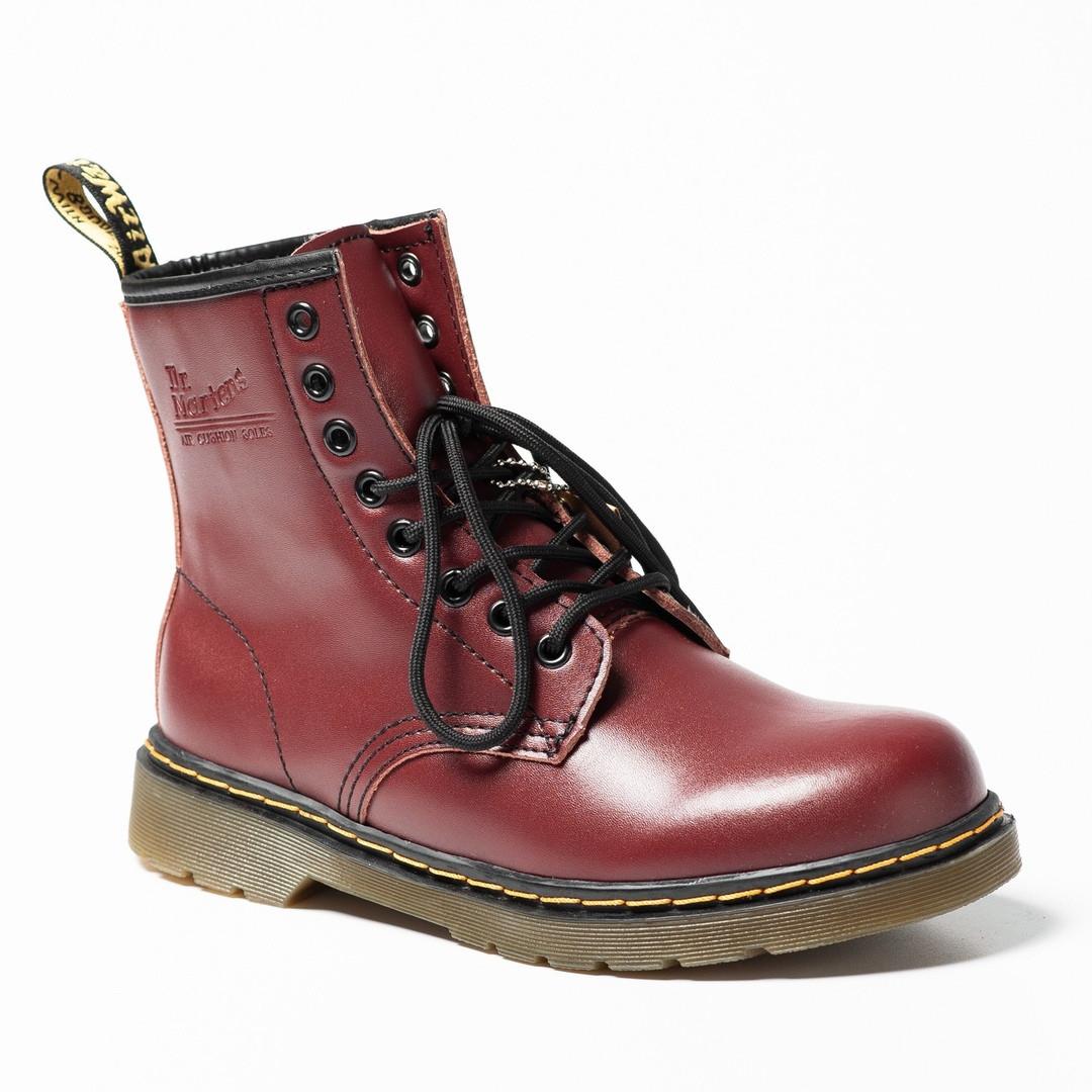 "Мужские зимние ботинки Dr.Martens ""Maroon"""