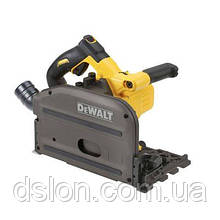 Пила погружная аккумуляторная DeWALT DCS520NT, ,XR FLEXVOLT, 54 В,Li-lon,2500-4200 об/мин,4.7 кг, чемодан