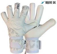 Перчатки вратарские Brave gk reflex white, размер 8