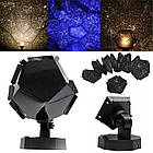 Ночник Созвездие Cosmos Adult of Science ЧЕРНЫЙ | Проектор звездного неба, фото 6