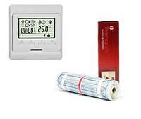 Теплый пол Thermopads FHMT-200/1800Вт, 9 кв.м (нагревательный мат) 0,5х18 м с бесплатной доставкой по Украине