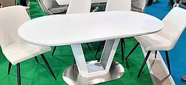 Стол обеденный DAOSUN DT 8105, белый