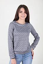 Молодежный свитер с орнаментом