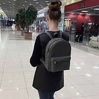 Сумка женская Sambag Рюкзак городской для женщин Серый Искуственная Кожа Размеры в ассортименте (4893261)