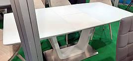 Стол обеденный DAOSUN DT 8108, белый
