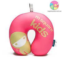 Детская дорожная подушка M Square (розовый)
