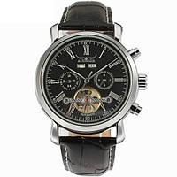 Мужские механические часы Jaragar Silver Star 1009 с автоподзаводом и датой
