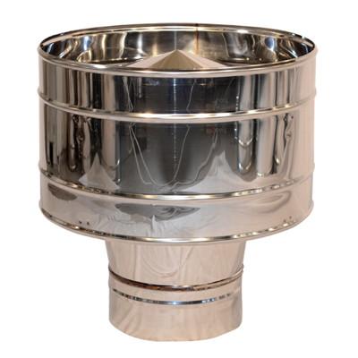 Дефлектор дымоходный нерж. ø110мм