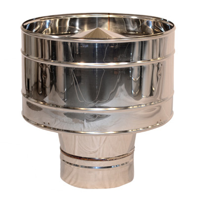 Дефлектор дымоходный нерж. ø220мм