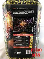 "Салютная установка ""КОЗАЦЬКІ РОЗВАГИ"" на 19 выстрелов 50 калибра Фейерверк СУ 50-19, фото 2"