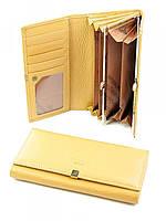 Шкіряний жіночий класичний гаманець Imperial Horse  WL-classic- yellow