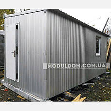 Вагончик 2-х модульный, мобильный (6 х 4.8 м.), для производства, офиса, штабной. на основе металлокаркаса., фото 3