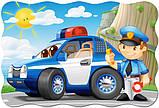 Пазлы Полицейский патруль, 20 элементов maxi, Castorland С-02252, фото 3