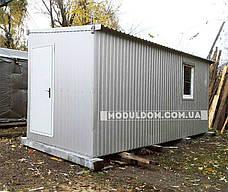 Вагончик 2-х модульный, мобильный (6 х 4.8 м.), для производства, офиса, штабной., фото 2