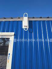 Вагончик для жилья, мобильный (9 х 2.4 м.), 2 комнаты с тамбуром, на основе металлического каркаса., фото 2