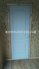 Вагончик для жилья, мобильный (9 х 2.4 м.), 2 комнаты с тамбуром, на основе металлического каркаса., фото 3
