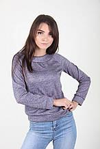Женский свитерок под джинсы теплый