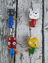 Фигурка мультгероя Три Кота на листе разноцветные SP-662 Китай