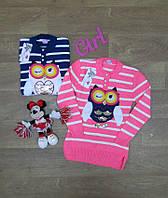 Детская туника - свитер на девочку,Интернет магазин,Детская одежда Турция,вязаная