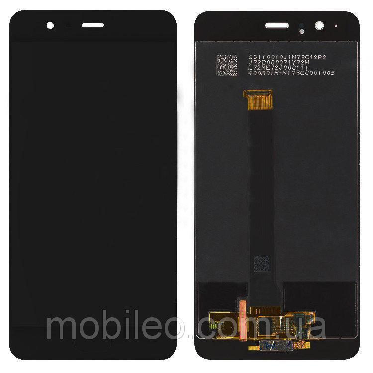 Дисплей (LCD) Huawei P10 Plus   VKY-L09   VKY-L29 с тачскрином, чёрный, оригинал (PRC)