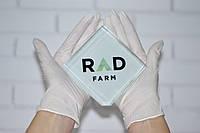Нитриловые перчатки белые без пудры 3.6 г/м² (100шт/уп) SAFETOUCH® PLATINUM WHITE