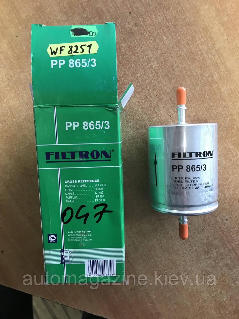 Фильтр топливный WF 8251 (PP865/3)