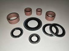 Кольца уплотнительные металло-резиновые