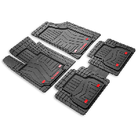 Набір універсальних килимків з ПВХ VEGA 4шт., чорний