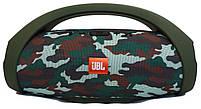 Портативная Bluetooth-колонка JBL Boombox BIG c функцией PowerBank и FM radio камуфляж, фото 2