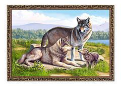 Репродукция картины в раме YS-Art 56х76 см (HBA600B)