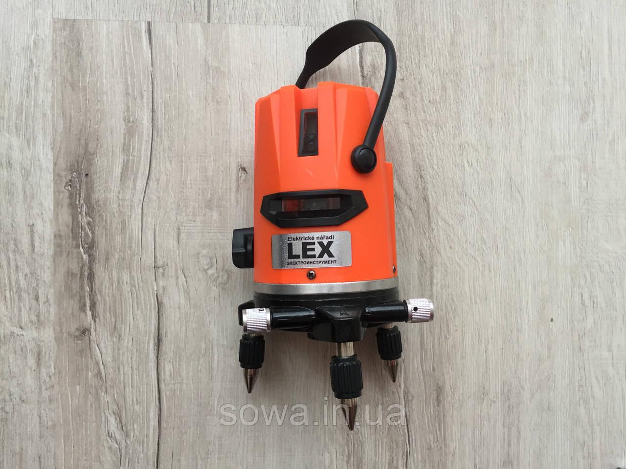 ✔️Уровень Лазерный , нивелир LEX LXNL01 + штатив Луч 20м