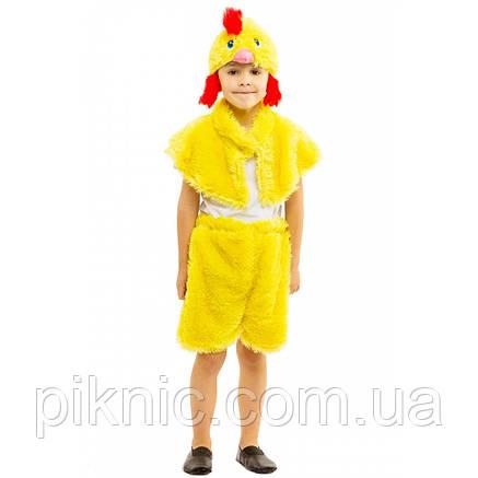Костюм Цыпленок для детей 3-6 лет. Детский новогодний маскарадный, фото 2