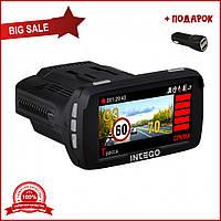 Автомобильный GPS Видеорегистратор MGM V3 Plus с функцией Антирадар