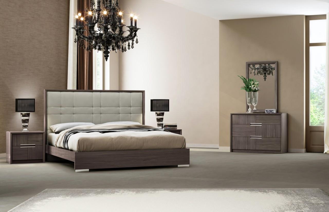 Спальня Модена (Серый каштан) (раскомплектовуется)