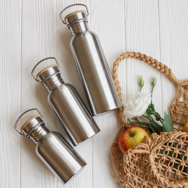 Стальная бутылка, бутылка для воды, металлическая бутылка, эко бутылка