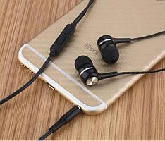 Вакуумные наушники вкладыши - Отличное качество, хороший звук, прочный и гибкий провод!
