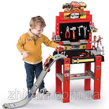 Мастерская с инструментами и спусковой дорогой Smoby Тачки 360722